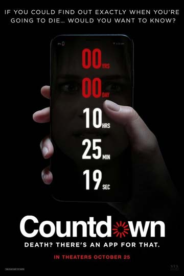 COUNTDOWN (PG-13) Movie Poster