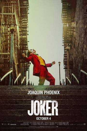 JOKER (R) Movie Poster