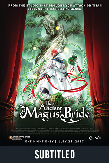 THE ANCIENT MAGUS BRIDE (SUBTITLED) (NR) Movie Poster