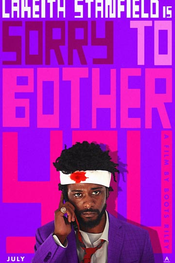 SORRY TO BOTHER YOU (R) Movie Poster