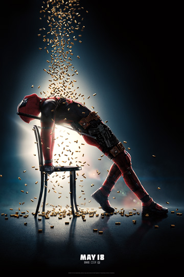 DEADPOOL 2 (R) Movie Poster
