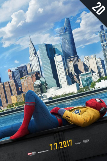 SPIDER-MAN: HOMECOMING (PG-13) Movie Poster