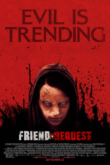 FRIEND REQUEST (R) Movie Poster
