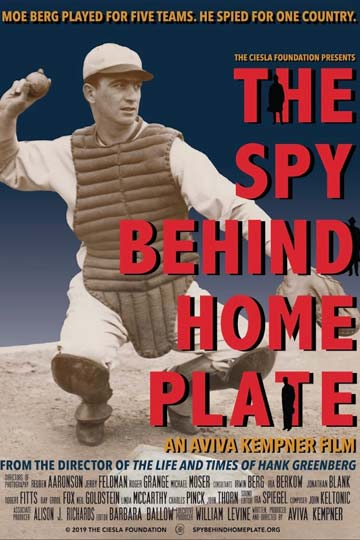 The Spy Behind Home Plate (NR) Movie Poster