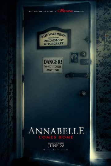 ANNABELLE COMES HOME (R) Movie Poster