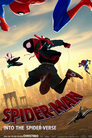 SPIDER-MAN: INTO THE SPIDER-VERSE (PG) Movie Poster