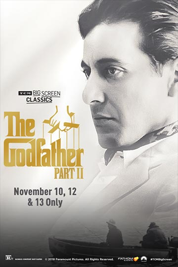THE GODFATHER PART II (R) Movie Poster