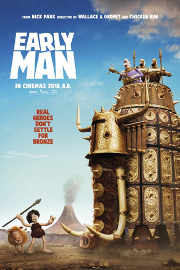 EARLY MAN (PG) Movie Poster