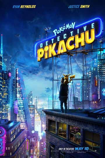 SPECIAL NEEDS: POKEMON DETECTIVE PIKACHU (PG) Movie Poster