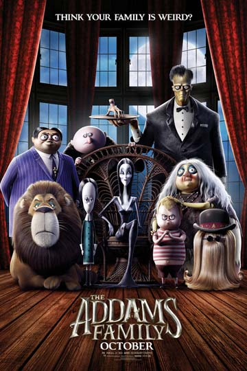 THE ADDAMS FAMILY (PG) Movie Poster