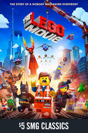 $5 The Lego Movie (PG) Movie Poster