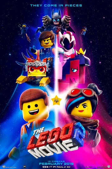 THE LEGO MOVIE 2: THE SECOND PART (PG) Movie Poster