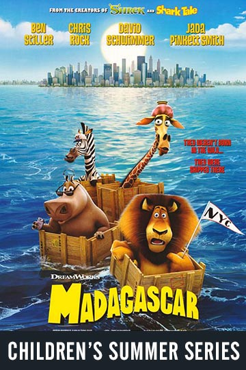 $1 MADAGASCAR (PG) Movie Poster
