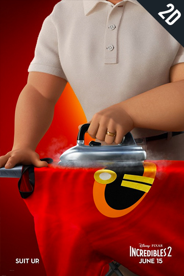 INCREDIBLES 2 (PG) Movie Poster