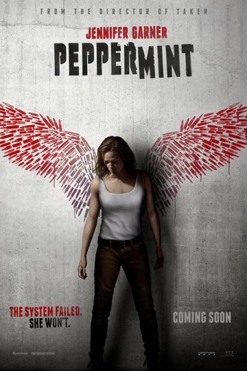 PEPPERMINT (R) Movie Poster