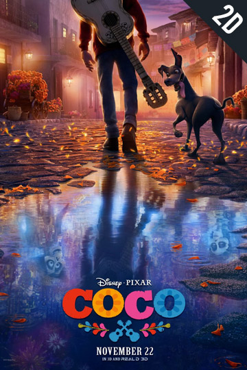 COCO. (PG) Movie Poster