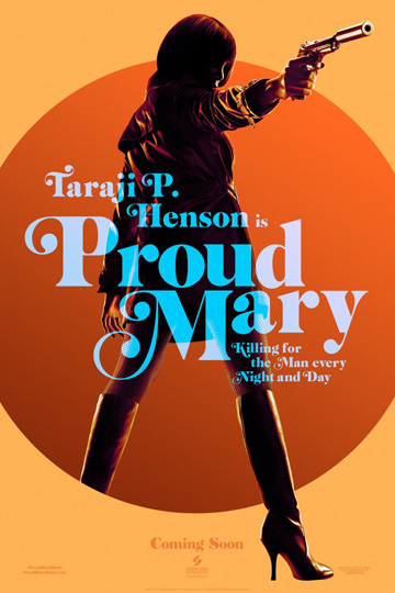 PROUD MARY (R) Movie Poster