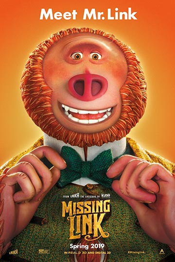 MISSING LINK (PG) Movie Poster