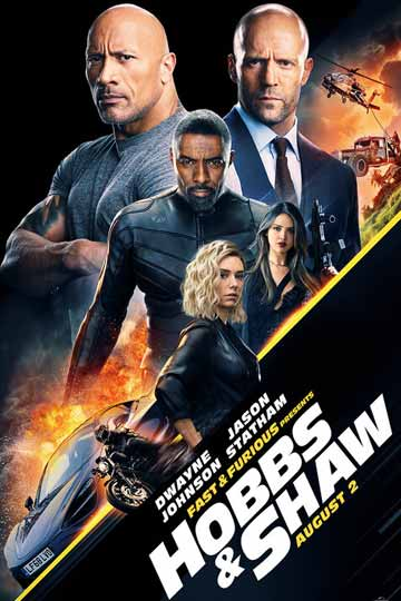 FAST & FURIOUS PRESENT: HOBBS & SHAW (PG-13) Movie Poster