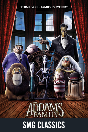 $5 THE ADDAMS FAMILY (2019) (PG) Movie Poster