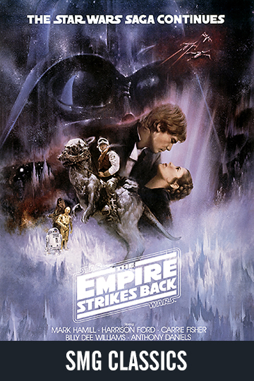 $5 Star Wars: Episode V - The Empire Strikes Back (PG) Movie Poster