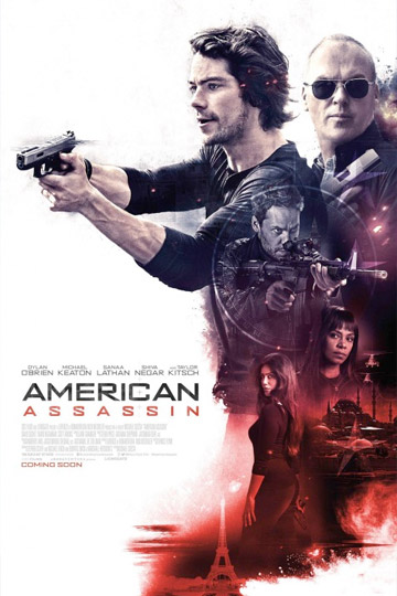 AMERICAN ASSASSIN (R) Movie Poster