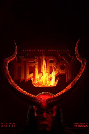 HELLBOY (R) Movie Poster