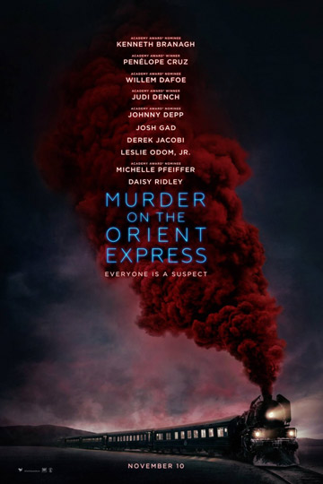 MURDER ON THE ORIENT EXPRESS (PG-13) Movie Poster