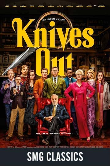 $5 KNIVES OUT (PG-13) Movie Poster