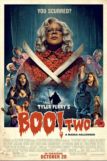 TYLER PERRY'S BOO 2! A MADEA HALLOWEEN (PG-13) Movie Poster