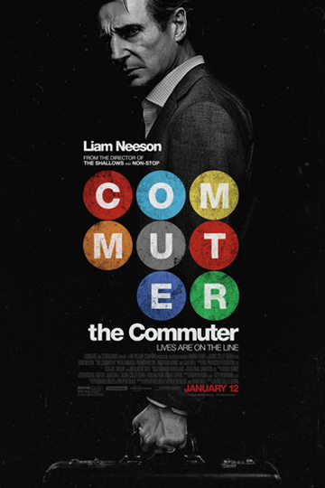 THE COMMUTER (PG-13) Movie Poster