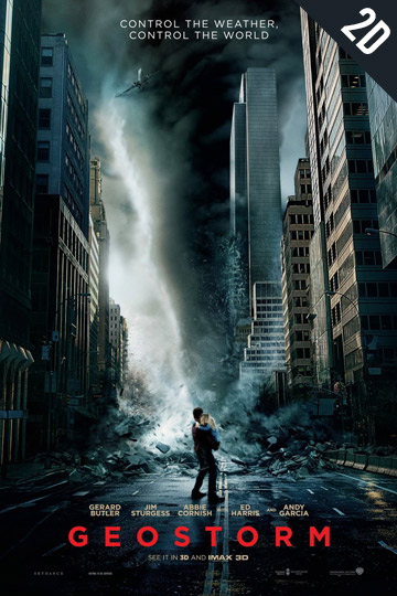 GEOSTORM (PG-13) Movie Poster