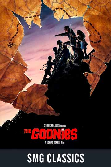 $5 THE GOONIES (PG) Movie Poster