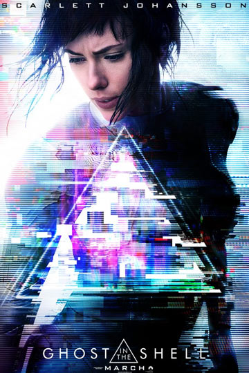 GHOST IN THE SHELL (PG-13) Movie Poster