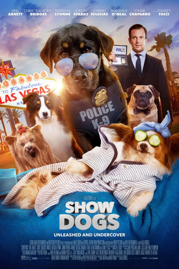 SHOW DOGS (PG) Movie Poster