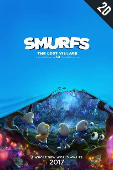 SMURFS: THE LOST VILLAGE (PG) Movie Poster