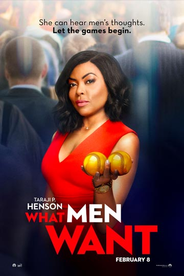 WHAT MEN WANT (R) Movie Poster