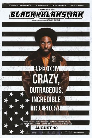 BLACKkKLANSMAN (R) Movie Poster