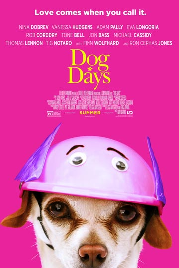 DOG DAYS (PG) Movie Poster