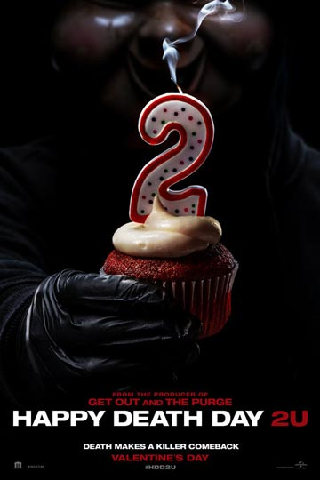 HAPPY DEATH DAY 2U (PG-13) Movie Poster