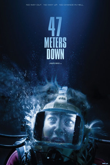 47 METERS DOWN (PG-13) Movie Poster