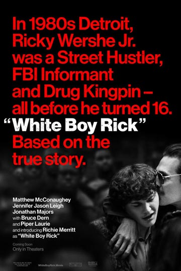 WHITE BOY RICK (R) Movie Poster
