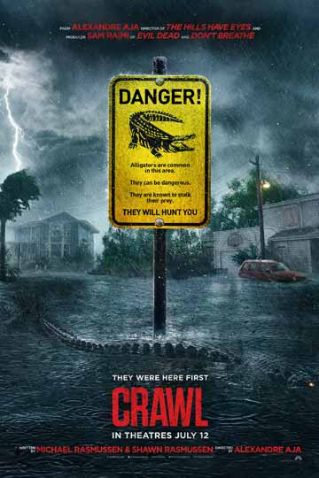 CRAWL (R) Movie Poster
