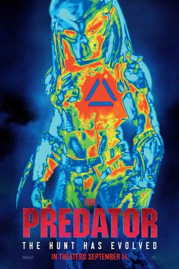 THE PREDATOR (R) Movie Poster
