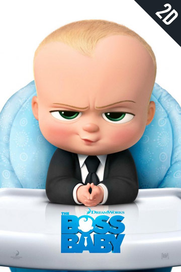 BOSS BABY (PG) Movie Poster