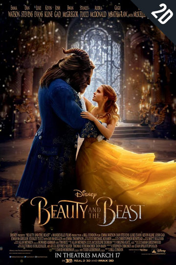 BEAUTY AND THE BEAST (PG) Movie Poster