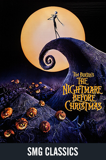 $5 The Nightmare Before Christmas (PG) Movie Poster
