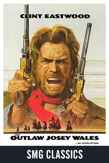 $5 THE OUTLAW JOSEY WALES (PG) Movie Poster