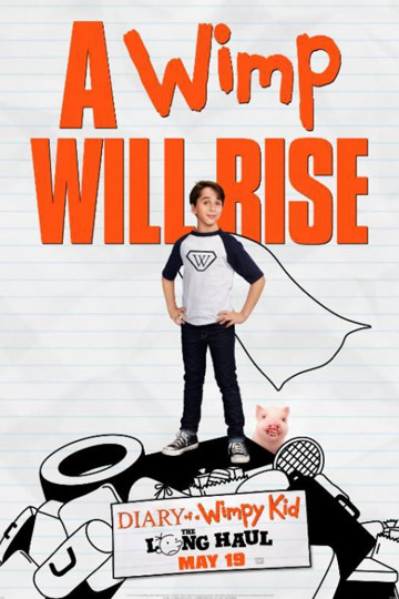DIARY OF A WIMPY KID: THE LONG HAUL (PG) Movie Poster
