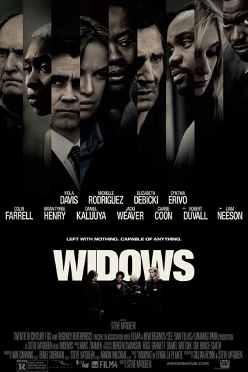 WIDOWS (R) Movie Poster